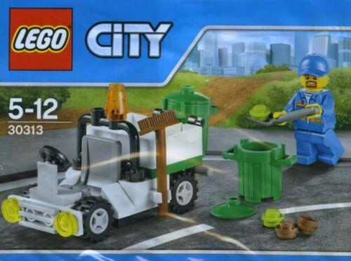 LEGO City 30313 Kehrmaschine Straßenkehrer Garbage Truck NEU 2015 Polybeutel!
