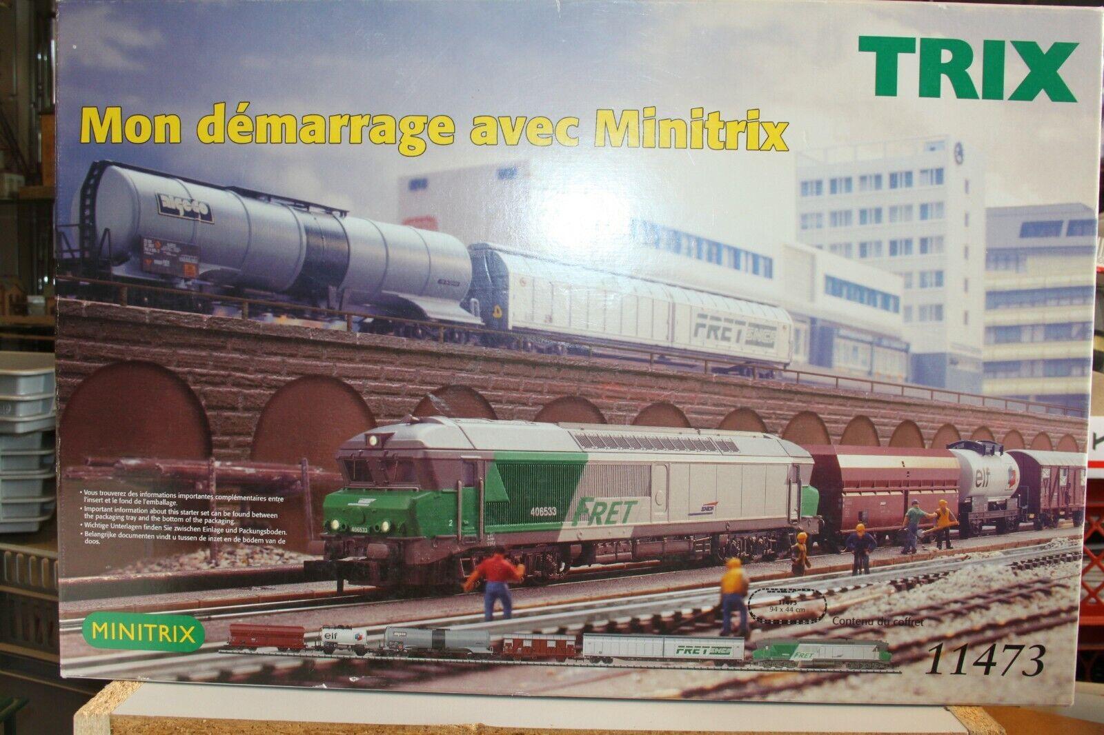 ventas al por mayor Trix 11473  pista n  zugset colección colección colección  cc72000 SNCF  FRET   Estrellat envase  nuevo  OVP  compras de moda online