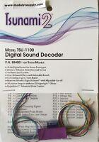 Soundtraxx 884001 Tsunami 2 1a Tsu-1100 Sound Decoder Steam Modelrrsupply