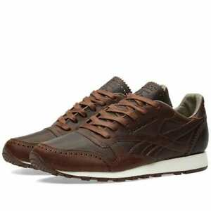 Trainers Shoes Details New Reebok Sneakers Lux Horween Co Smart Classics X Leather Brown About QBdCeWrxo