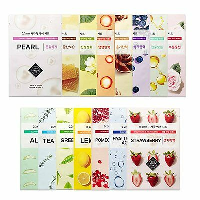 Etude House 0.2 Therapy Air Mask Sheet 15pcs for Skin Care