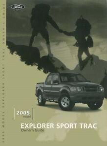 ford explorer sport trac owners manual user guide