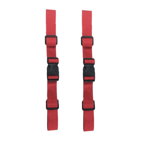 2 x Backpack Chest Strap Buckle Clip Nylon Release Buckle Quick Release Clip,