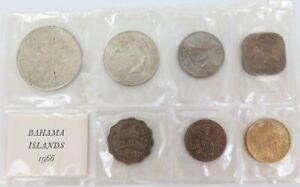 1966-BAHAMAS-7-COIN-UNC-SET