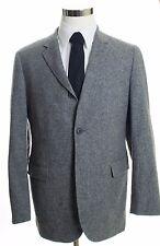 BROOKS BROTHERS 1818 Cambridge Yorkshire Tweed Gray Sport Coat Blazer Size 42 R
