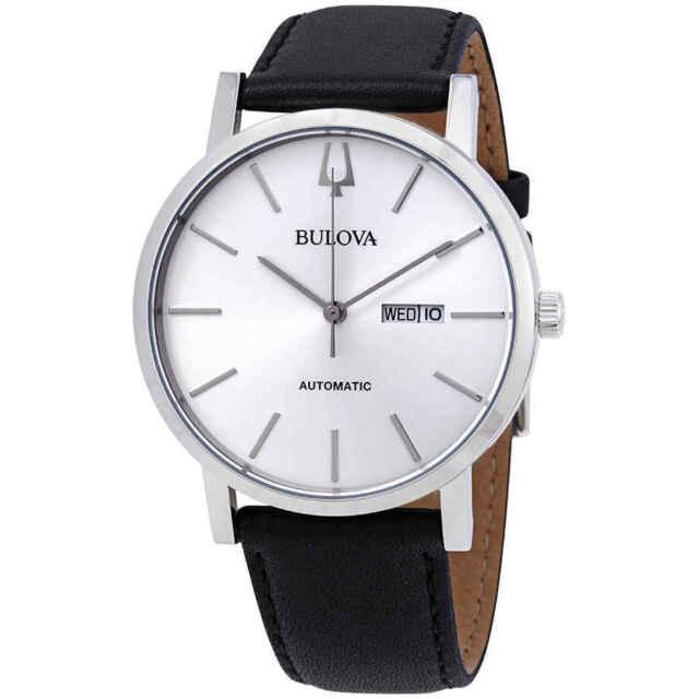 Bulova Classic Automatic Silver Dial Men's Watch 96C130