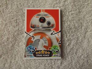 Topps-Star-Wars-Force-Attax-034-BB-8-034-150-Strike-Force-Card