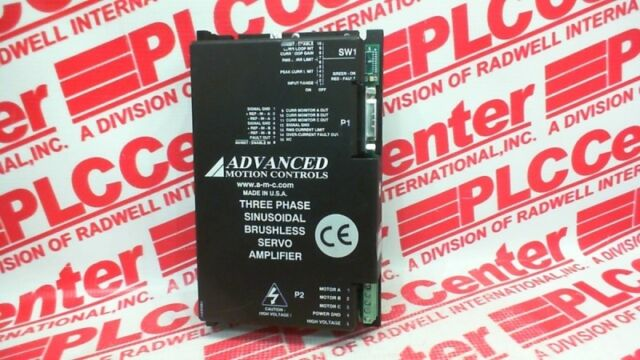 Advanced Motion Controls 3-phase Driver X10 Sx25a20a-at3 Expedited