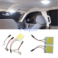 2x T10 COB 24-LED Interior Light Panel Festoon Dome Car Bulb Lamp 12V White