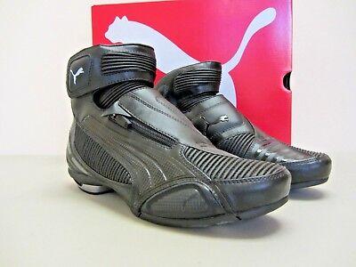 grande vente ffaff 451a0 Puma Testastretta II - Size 6 US - Black Motorcycle Shoes - CLOSEOUT | eBay