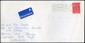Denmark-1992-Commercial-Airmail-Cover-To-UK-C32482