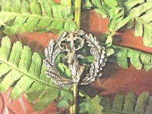 Double-pin-039-s-tete-de-cerf-croix-miraculeuse-Saint-Hubert