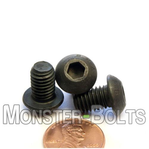 8mm x 1.25 x 12mm BUTTON HEAD Socket Cap Screws Qty 10 12.9 Alloy Steel M8