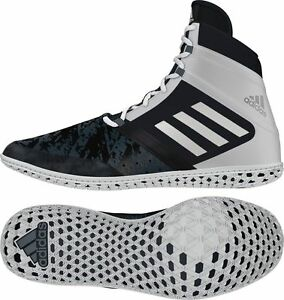 265af286d77 BRAND NEW! Adidas Flying Impact Men s Wrestling Shoes Black Silver ...