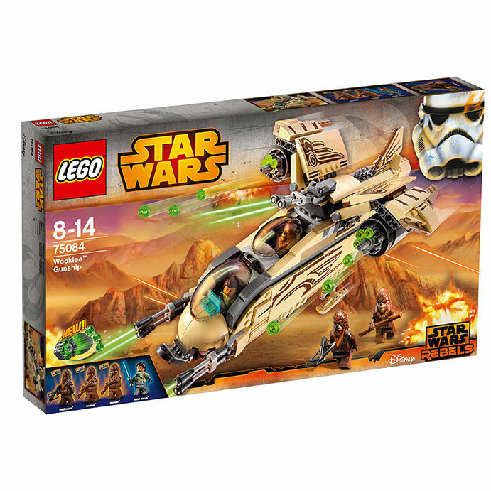 LEGO 75084 StarWars Wookiee Gunship NEU OVP