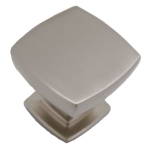 "LOT 25 LIBERTY Webber Satin Nickel 1-1//8/"" Square Cabinet Drawer Knob P29542-SN-C"
