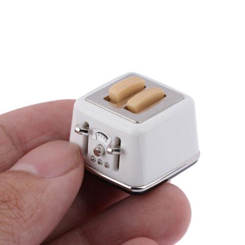 1//12 Scale dollhouse bread machine with toast miniature cute decor Toaster I WDC