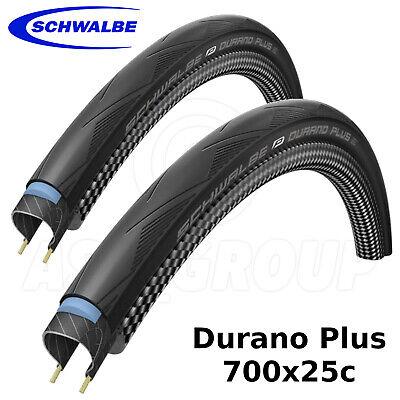 Sanft Schwalbe Durano Plus - 700x25c (25-622) - Smartguard, Wired, Road Bike - 2 Tyres Delikatessen Von Allen Geliebt