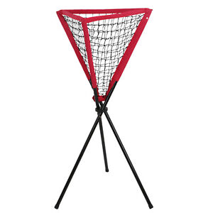 Ball-Caddy-Baseball-Softball-Tennis-Practice-Pitching-Batting-Bownet-Portable
