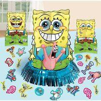 Sponge-bob Table Decorations Centerpieces Plus Confetti Birthday Supplies