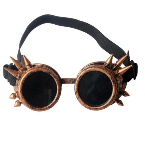 Rainbow Kaleidoscope Goggles Fashion Cosplay Punk Glasses Party Decor C.F.GOGGLE