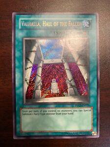 VALHALLA HALL OF THE FALLEN MINT//NM CONDITION PP02 EN020 NM SECRET RARE