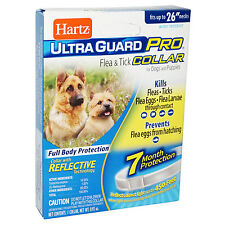 Hartz Ultraguard Pro Flea and Tick Prevention Collar for Dogs 7 Month