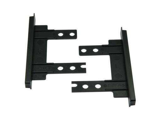 CT23NS29 FOR NISSAN MICRA 2012 ONWARDS BLACK DOUBLE DIN BRACKETS ONLY