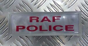 Genuine-British-Royal-Air-Force-Police-RAFP-Hi-Viz-Reflective-Jacket-Patch