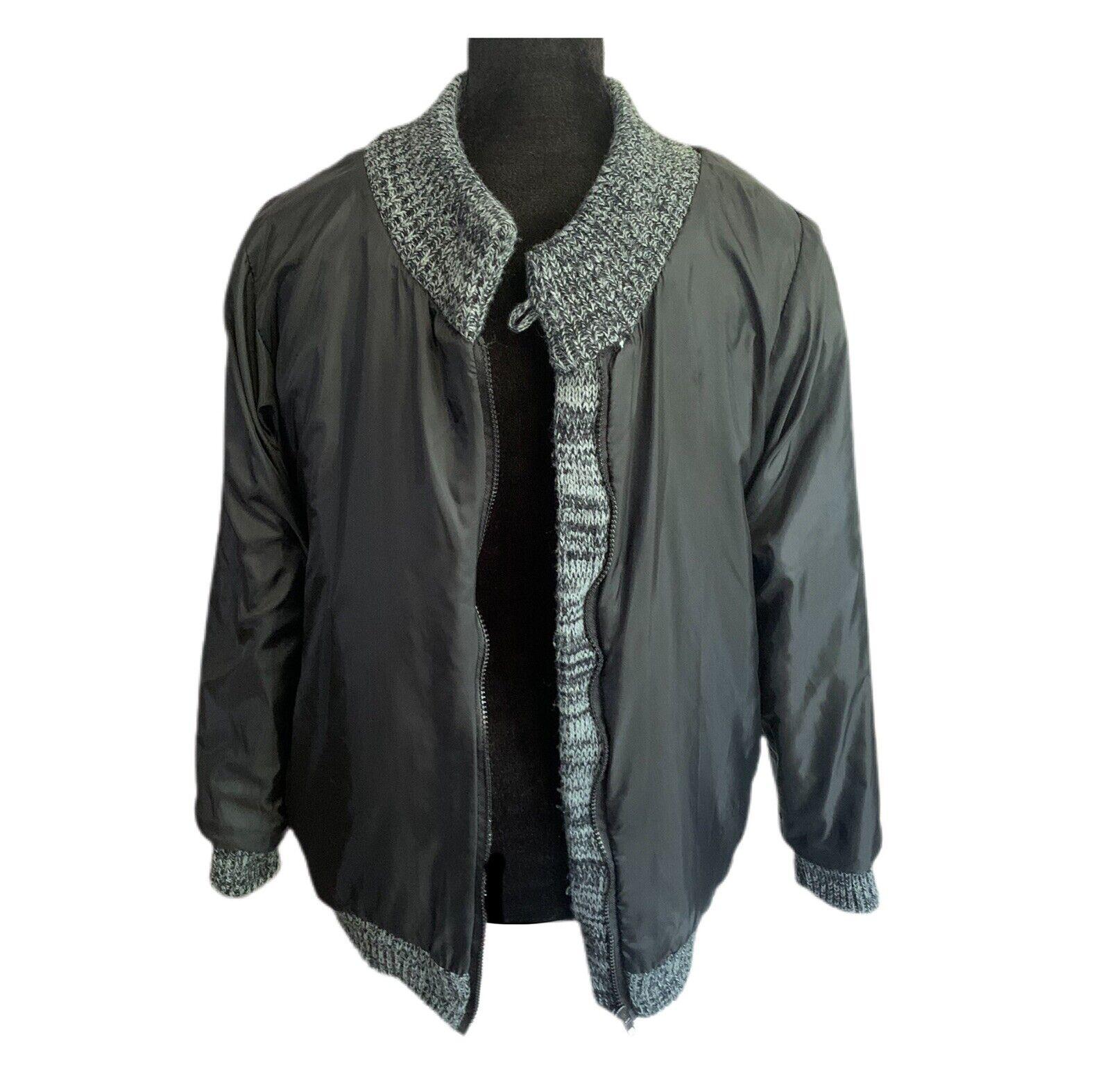 Chimayo Knit Sweater Jacket 80s Vintage Jacket Bo… - image 7