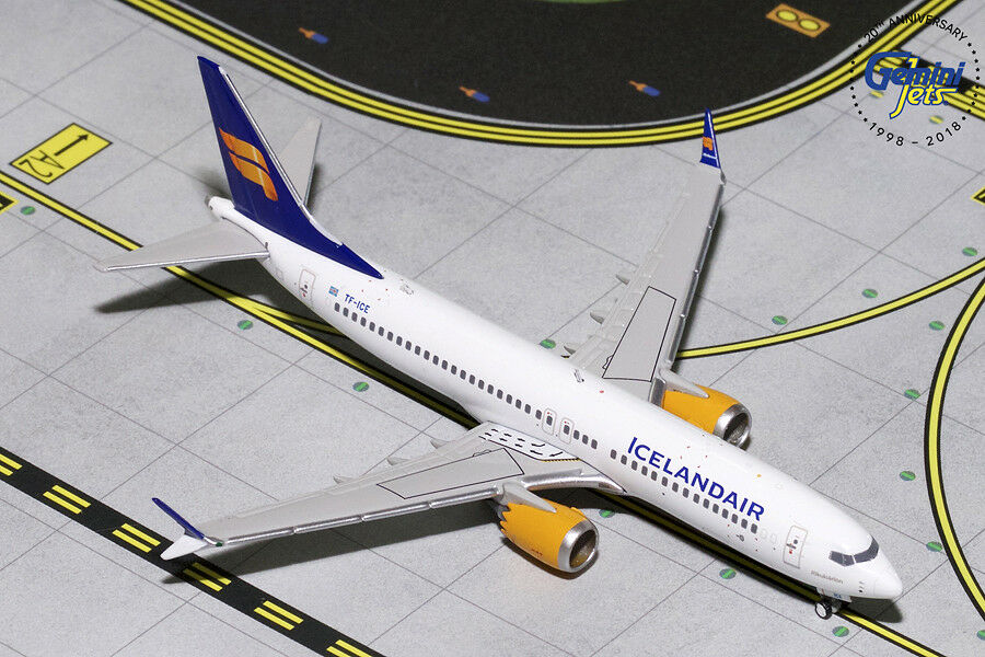 Gemini Jets 1 400 Scale Icelandair Boeing 737 MAX 8 8 8 TF-ICE GJICE1767 d5a92a