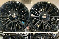 24 Inch Cadillac Escalade Rims Wheels Rims 4 Set 6x139 Platinum Blacked Out