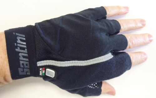 Santini Gel Mania Fingerless Gloves SP 367 Shock Absorbing