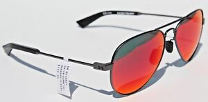 50e508cd49 Details about UNDER ARMOUR Getaway Sunglasses Satin Gunmetal/Infrared  Mirror NEW Aviator $135