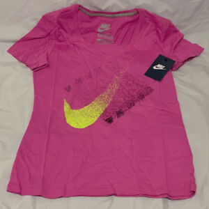 mediana 566 v en con Talla Nike Camiseta Swoosh 589540 talla Blended cuello OYnSYzaxP4