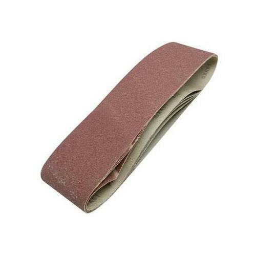 GF5186 Silverline Lot de 5 bandes abrasives 100 x 915 mm Grain 80