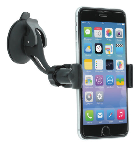 Pulse Car Windscreen Suction & iPhone 6, 7, 8, X, XS & Plus Mobile Phone Holder