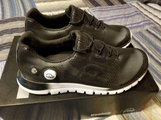 reebok zpump fusion mens running shoes