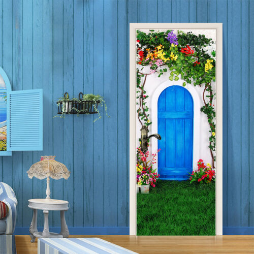 3D Vines Flowers Wall Stickers Vinyl Murals Wall Print Deco AJSTORE UK Kyra