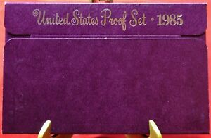 1985-S-Proof-Set-United-States-US-Mint-Free-Shipping