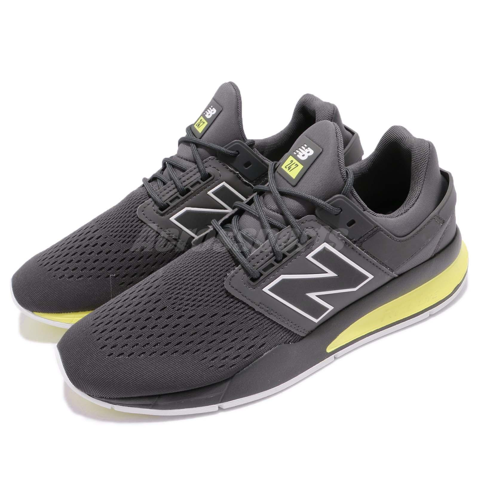 New Balance MS247TG D  Gris  Yelfaible homme fonctionnement Casual chaussures Sneakers MS247TGD