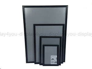 A2 Aluminium Snap Frames Poster Clip Holders Displays Retail Wall Notice Boards