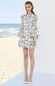 ALEX-PERRY-erin-100-silk-print-ruffle-mini-dress-size-6-1600-NEW