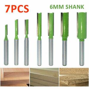 7-Stueck-Nutfraeser-6mm-Schaft-Oberfraeser-Nutenfraeser-Holzfraeser-Nuter-Fraeser-Set