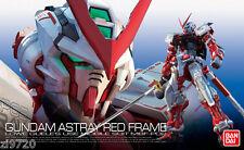 Bandai RG-19 Gundam Astray Red Frame MBF-P02 1/144 scale kit USA Seller