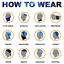 Summer UV Protection Face Cover Face Scarf Motorcycle Bandana Sport Headwear