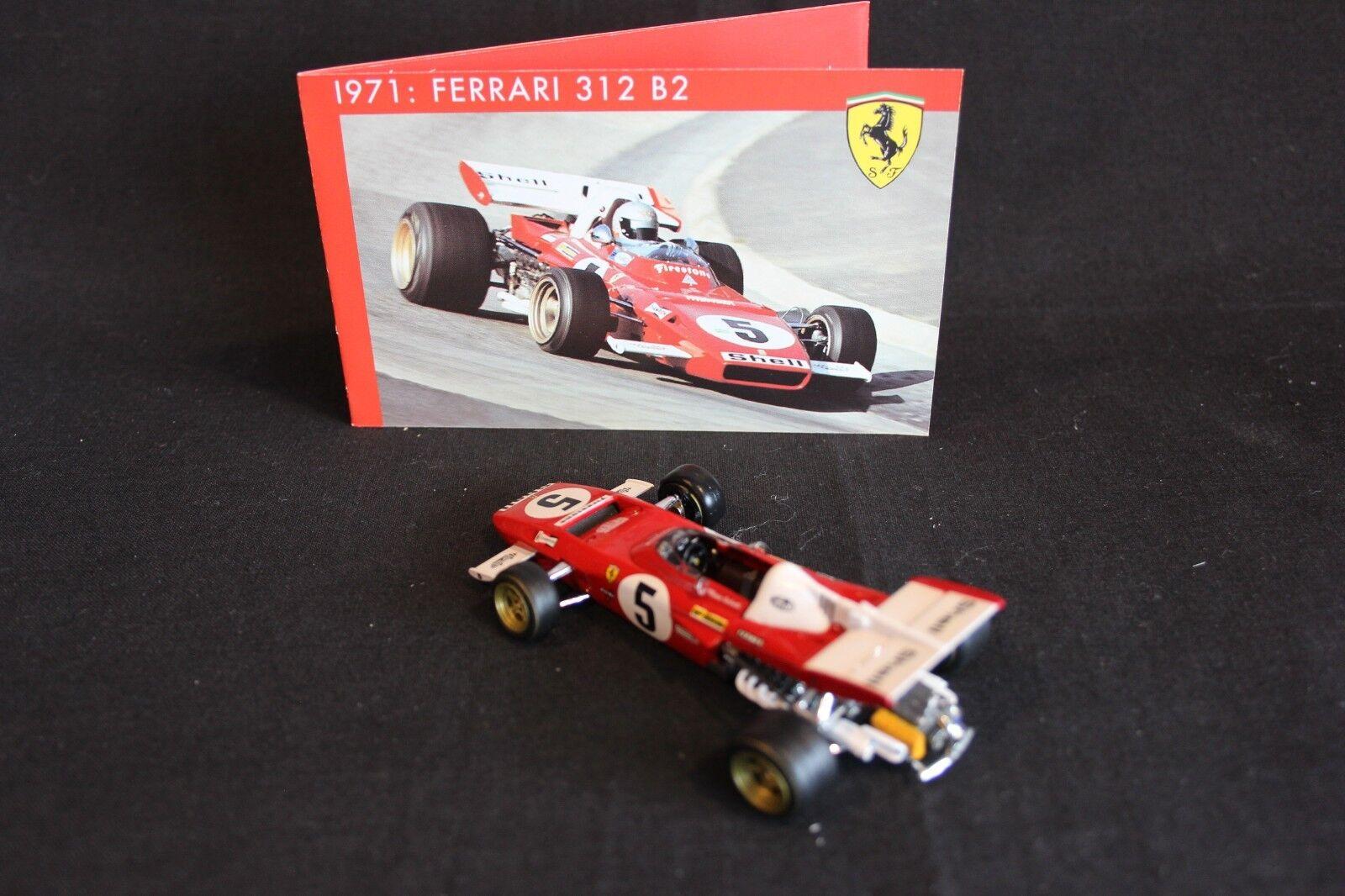 IXO     Hot Wheels Ferrari 312 B2 1971 1 43 Mario Andretti (USA) in special box 8a0565