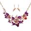 Fashion-Bridal-Wedding-Rhinestone-Crystal-Necklace-Earrings-Jewelry-Set-Party thumbnail 77