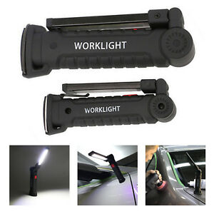 COB-LED-Rechargeable-Magnetic-Torch-Flexible-Inspection-Lamp-Worklight-UK