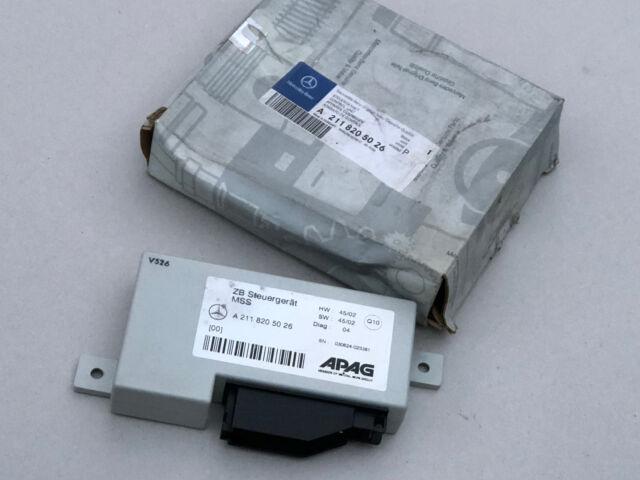 Mercedes W211 Multifunktionssteuergerät Steuergerät A2118205026 Original